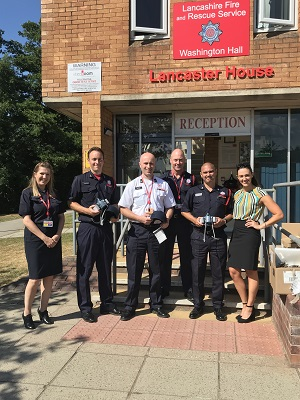 3M donates safety equipment to moorland firefighters