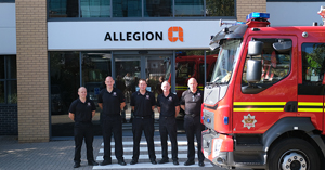ALLEGION UK TAKES STEPS TO RAISE AWARENESS FOR FIRE SAFETY