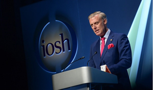 New IOSH President Professor Andrew Sharman