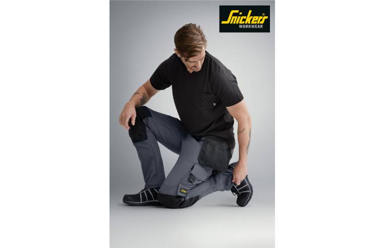 SNICKERS' NEW 4-WAY STRETCH TROUSERS GIVE MAXIMUM MOBILITY