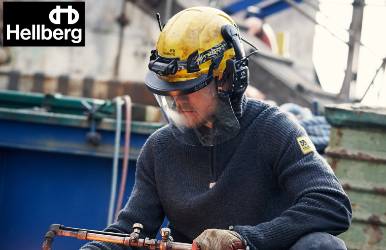 QUALITY SAFE FACE PROTECTION FROM HELLBERG SAFETY
