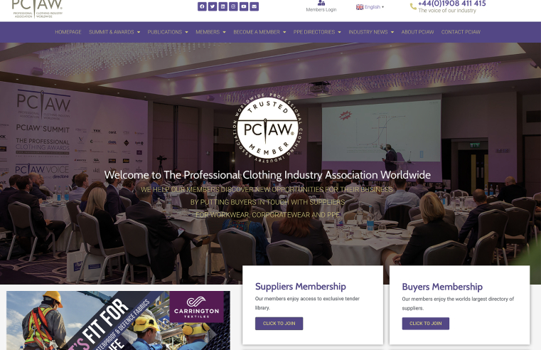 WEBSITE UPGRADE FOR PCIAW