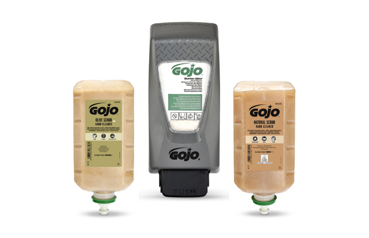 GOJO's range of specialist hand cleaners