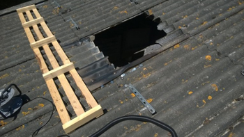 Solar panel company prosecuted after worker falls through skylight